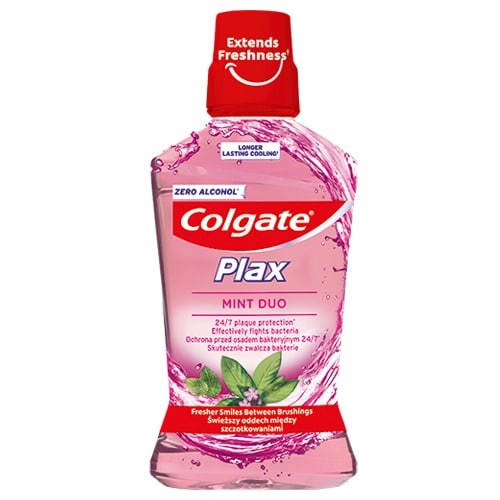 Colgate Plax Mint Duo
