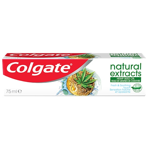 Colgate Natural Extracts Hemp